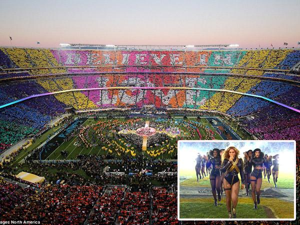 Tampil Spektakuler di Super Bowl, Beyonce Usung 'Isu Politik' Sensitif Ini?