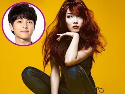 Shin Bo Ra Ingin Perankan Film Bersama Song Joong Ki