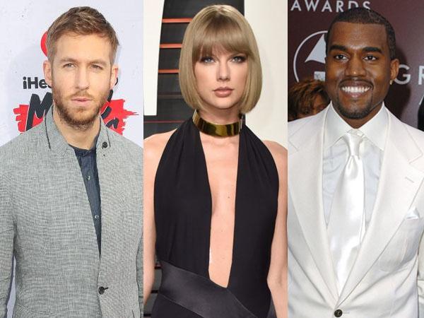Tepis Rumor Kolaborasi, Calvin Harris Tak Ingin Terlibat Perseteruan Kanye West dan Taylor Swift?