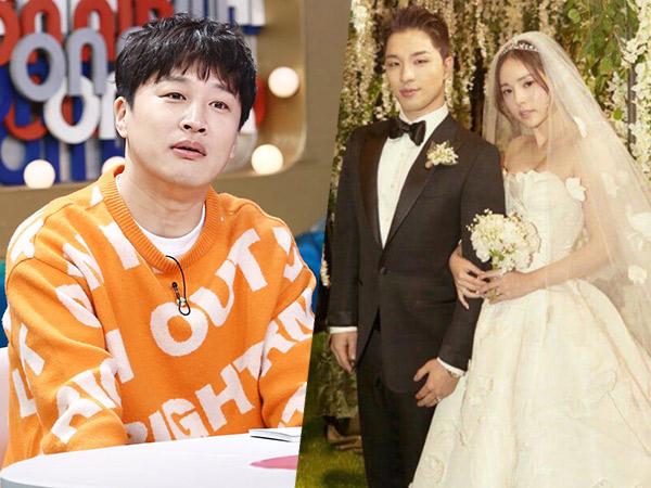 Cha Tae Hyun Bagikan Cerita 'Aneh' dari Pernikahan Taeyang dan Min Hyo Rin