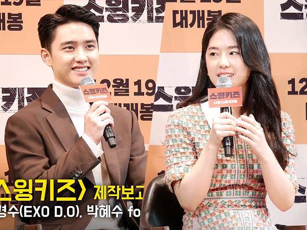D.O EXO Ungkap Adegan Ciuman dengan Park Hye Soo di Film 'Swing Kids' Berbahaya