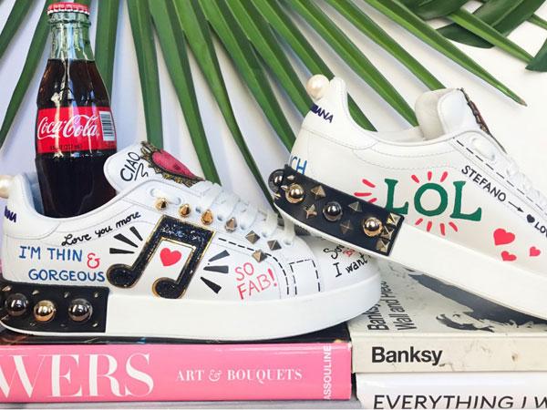 Sneakers Terbaru Dolce & Gabbana untuk Generasi Milenial Dihujat Netizen