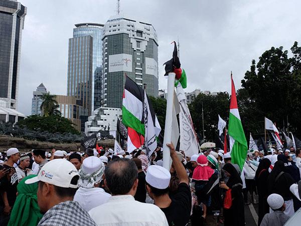 Ketua MUI Ajak Massa Boikot Amerika dalam Aksi Bela Palestina