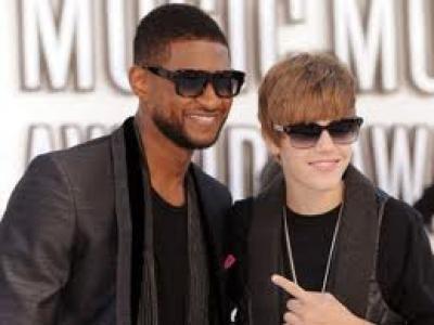 Kompaknya Justin Bieber dan Usher