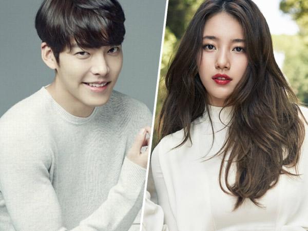 Mulai Produksi, Kim Woo Bin dan Suzy Tampak Serasi Di Lokasi Syuting Drama 'Uncontrollably Fond'