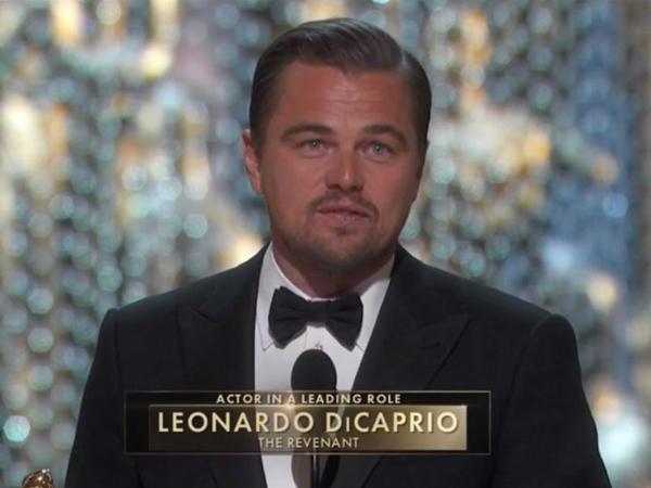 Menanti 22 Tahun, Kemenangan Oscar Leonardo DiCaprio Diserbu Meme Kocak!