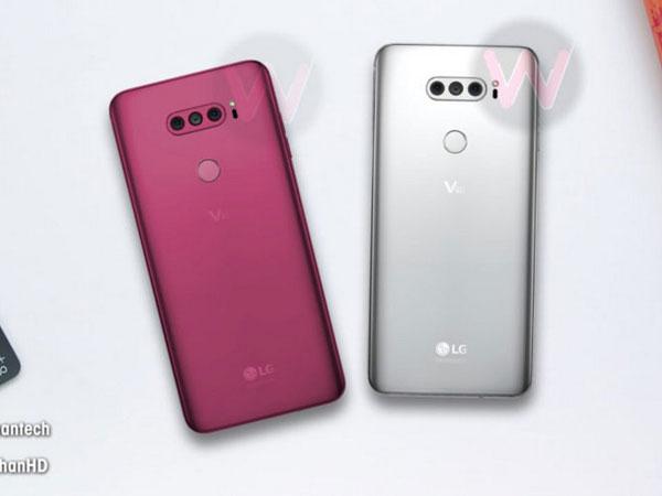 Bocoran Terbaru Sebut LG V40 Punya 5 Kamera, Begini Penampakannya