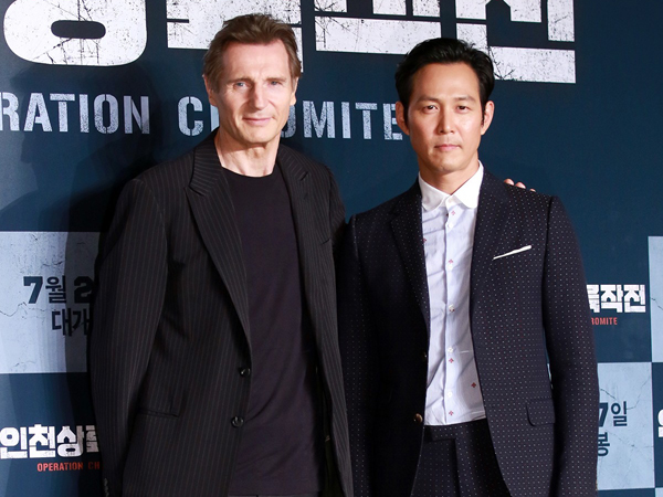 Perdana Main Film Bareng, Aktor Hollywood Liam Neeson Puji Kualitas Akting Lee Jung Jae