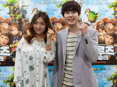 Kyuhyun SuJu dan Luna F(x) Duet untuk OST Film Animasi Produksi Dreamworks!