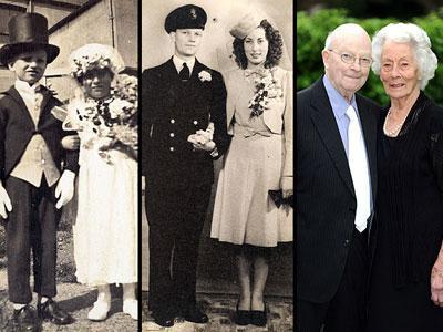 Wow, Berjodoh Sejak Bayi, Pasangan Ini Telah Bersama 91 Tahun