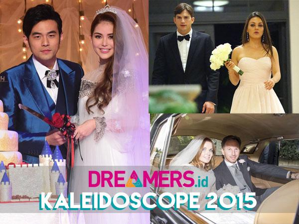 Ini Dia 10 Pernikahan Selebriti Hollywood Terheboh Sepanjang Tahun 2015