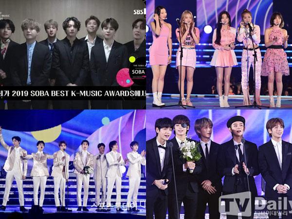 BTS dan Red Velvet Raih Daesang, Inilah Pemenang Soribada Best K-Music Awards 2019 Hari Kedua
