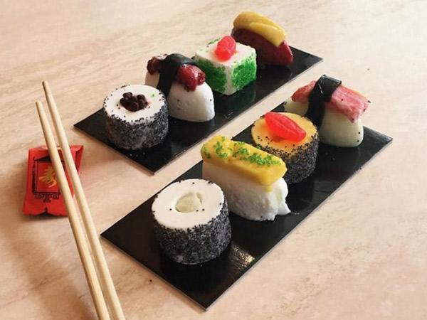 Jangan Terkecoh! Sushi Super Lezat Ini Ternyata Terbuat dari Es Krim