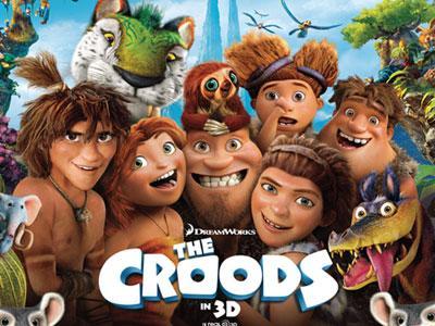 Cerita Animasi Keluarga Jaman Batu Rebut Tempat Teratas di Box office