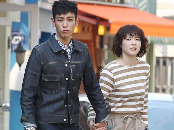 T.O.P Big Bang dan Juri Ueno Terlihat Sedang Syuting Drama Terbarunya di Seoul