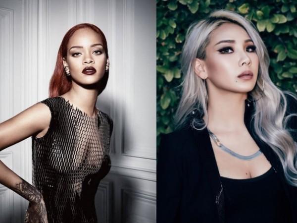 Saling Kangen, Ini Bukti Manisnya Hubungan CL 2NE1 dengan Rihanna