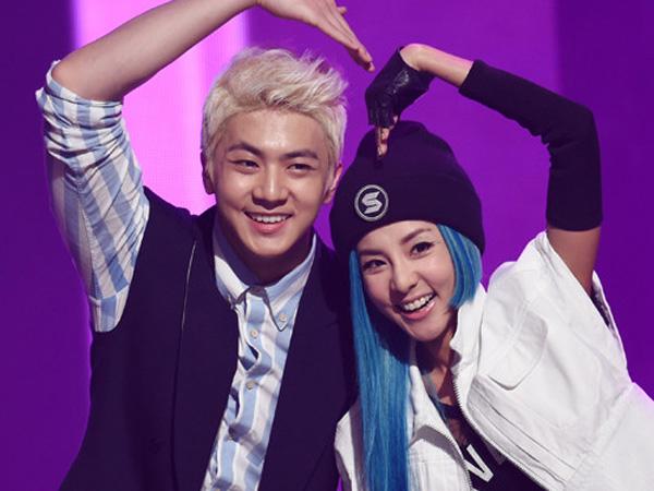 Dara 2NE1 Tunjukkan Dukungan untuk Album Baru Sang Adik, Thunder MBLAQ