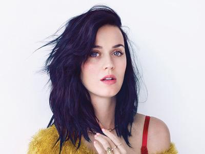 Wah, Katy Perry Bakar Wig Biru di Teaser 'Roar'!