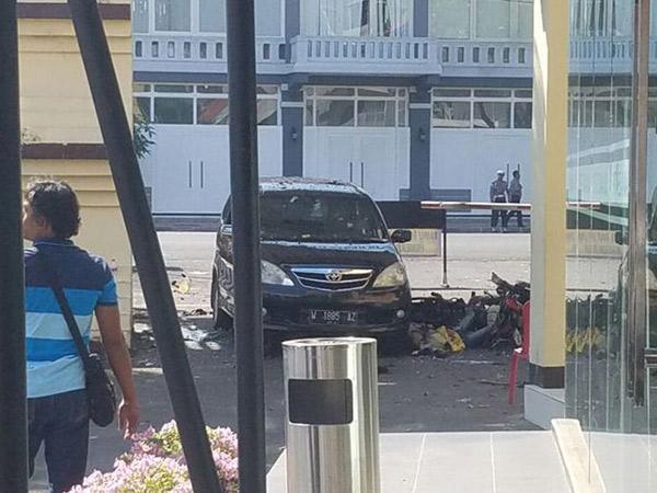 Ledakan Kembali Terjadi di Polrestabes Surabaya