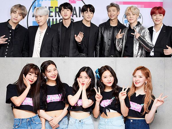 BTS dan Red Velvet Terpilih Jadi Idola K-Pop yang Cocok Jadi Guru dan Teman Sekelas