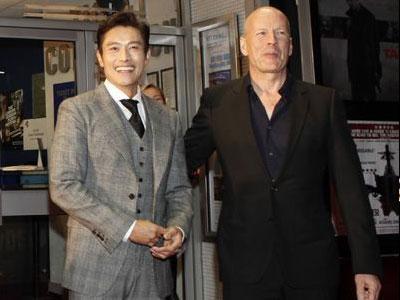 Lee Byung Hun Akrab Dengan Bruce Willis Karena Bibimbap?