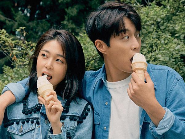 Intip Gaya Casual Pemotretan Couple Baru Drama 'Let's Eat 3', Doojoon dan Baek Jin Hee