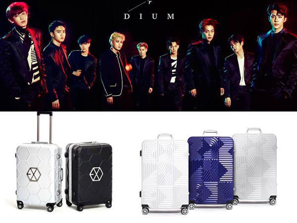 Kolabrasi Eksklusif, Brand Fashion Ini Luncurkan Koper Edisi Khusus EXO!