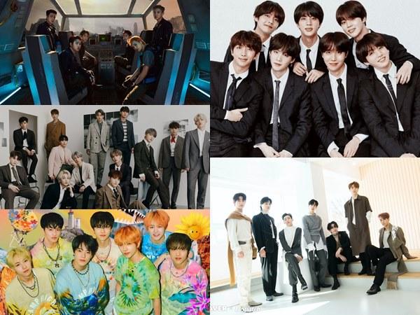 5 Boy Grup Kpop Generasi Ketiga Terlaris, BTS Sampai GOT7!
