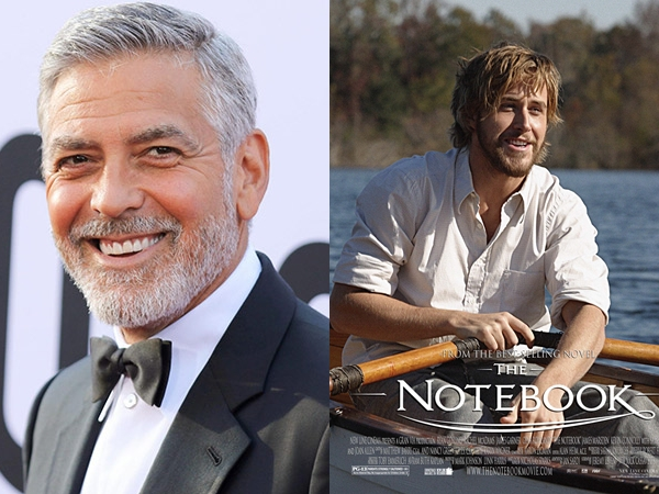 Pengakuan George Clooney Nyaris Gantikan Ryan Gosling di Film The Notebook