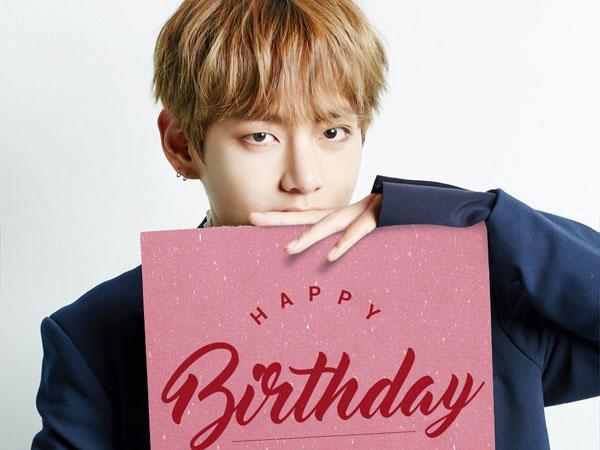 Happy Birthday V BTS! Yuk Simak Fakta Serunya Selama 2017