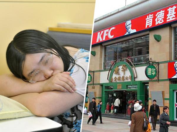 Putus dengan Pacar, Wanita Ini Menginap di KFC Selama Seminggu!