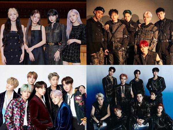 Ada EXO Hingga BTS, BLACKPINK Masuk 5 Nominasi BreakTudo Awards 2020
