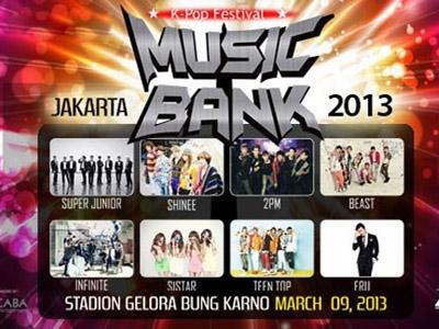 Ini Dia Peraturan untuk Penonton Konser Music Bank Jakarta