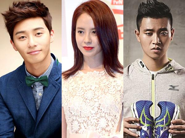 Upss, Song Ji Hyo dan Park Seo Joon buat Gary Panas!