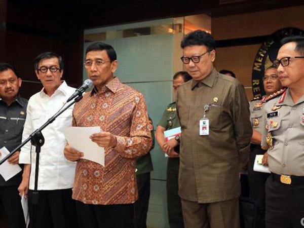 Pemerintah Resmi Terbitkan Perppu Untuk 'Perangi' Ormas Anti-Pancasila