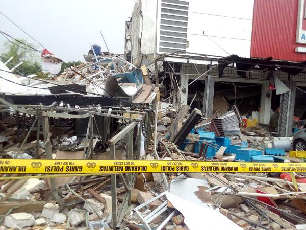 Gas Restoran Meledak, PHD Janji Tanggung Jawab Kerugian dan Korban
