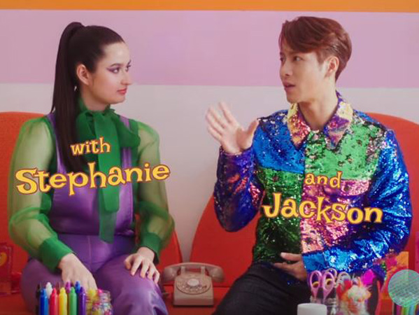 Interaksi Manis Stephanie Poetri dan Jackson Wang di Video Musik 'I Love You 3000 II''