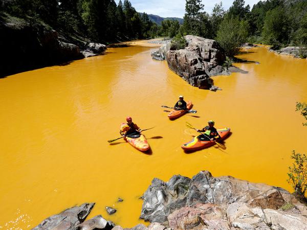 Tercemar Limbah Beracun, Warna Sungai Ini Jadi Kuning Pekat!