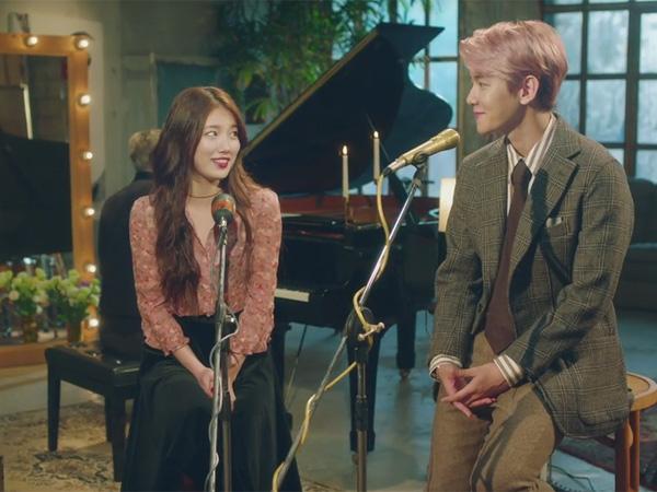 Serasinya Baekhyun EXO dan Suzy miss A Jadi Pasangan Duet Romantis di Video Musik 'Dream'