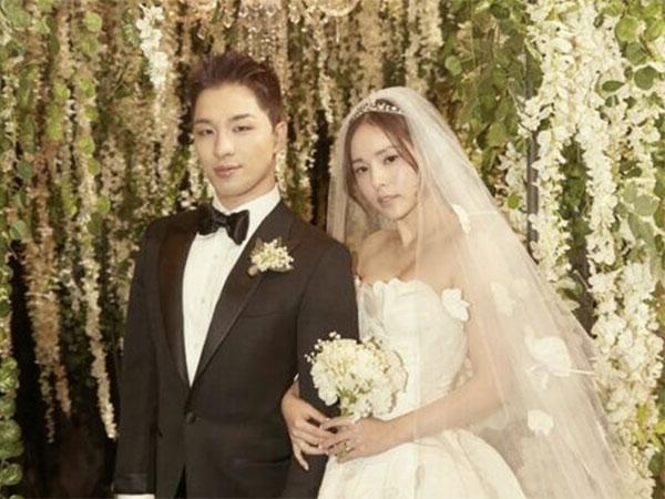 Agensi Konfirmasi Taeyang dan Min Hyo Rin Nantikan Kelahiran Anak Pertama