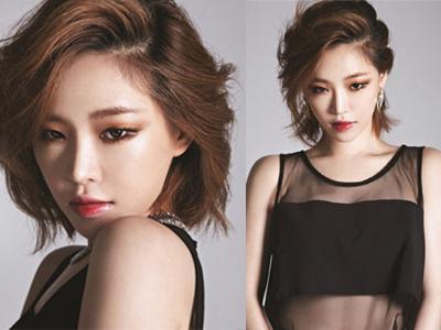 Wajah Cantik Gain 'Brown Eyed Girls' Tanpa Eyeliner Hitam