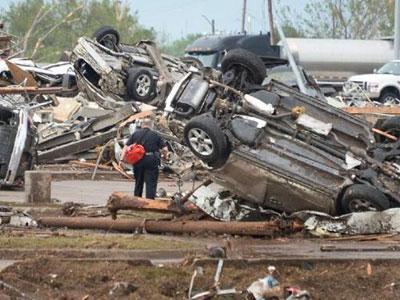 Duh, Penjarahan Terjadi di Tengah Bencana Tornado