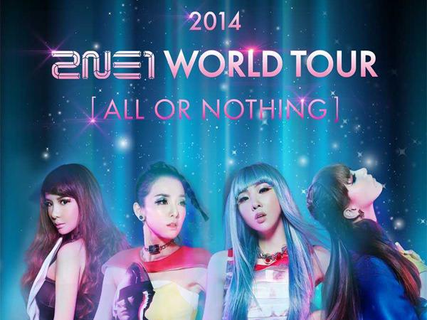 Wow, Fans Bisa Saksikan Rehearsal Konser 2NE1 di Jakarta!