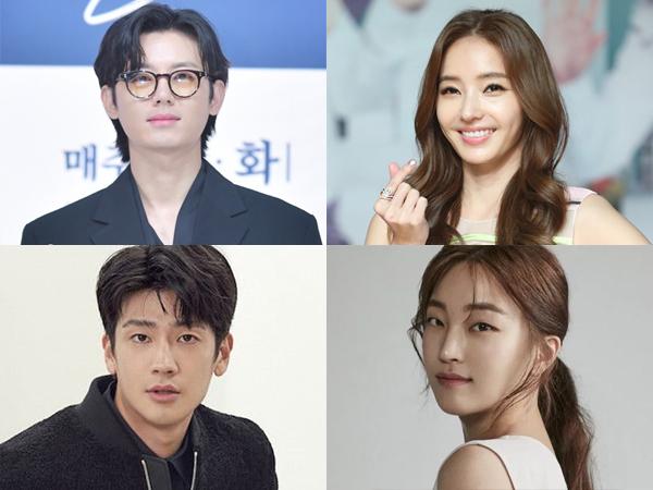 Detail 4 Karakter Utama Drama Thriller Romantis Baru 'Desire'