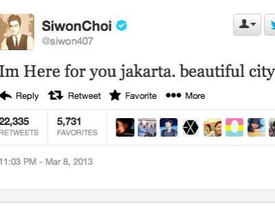 """Siwon Siap Puaskan Rindu Fans Dan Sebut """"Jakarta Kota Cantik"""""""