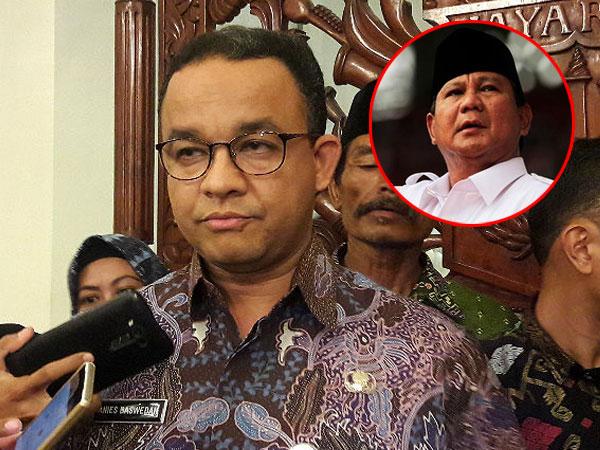 Tanggapan Anies Baswedan Soal Prabowo Disebut Minta Mahar Pilgub