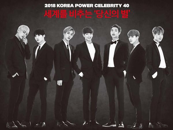 BTS 'Mejeng' di Cover Majalah Forbes Jadi Seleb Paling Berpengaruh di Korea Selatan!