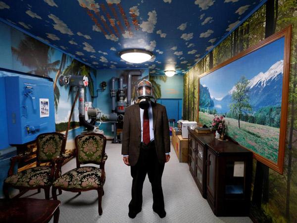 Bak Rumah Sungguhan, Begini Tampak Dalam Bunker Anti Nuklir di Jepang
