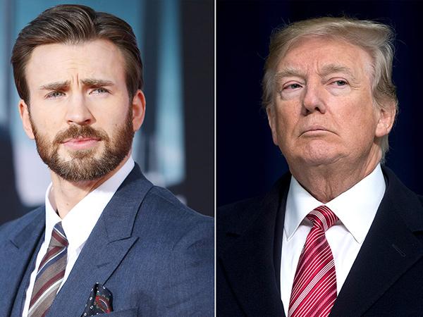 Donald Trump Sebut Jangan Takut Covid-19, Chris Evans Geram