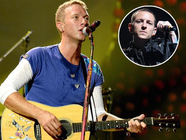 Tribut Spesial dari Coldplay untuk Vokalis Linkin Park Chester Bennington